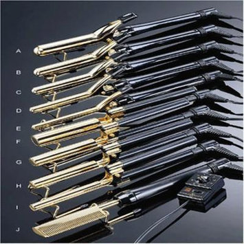 Gold N Hot Pressing/Styling Comb with MTR 24K Plate # Gh299