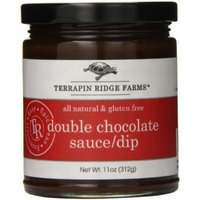 Terrapin Ridge Farms Dessert Topping Sauce and Dip, Double Chocolate, 11 Ounce