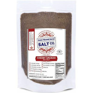 Cherrywood Smoked Sea Salt (10lb Bag - Fine Grain)