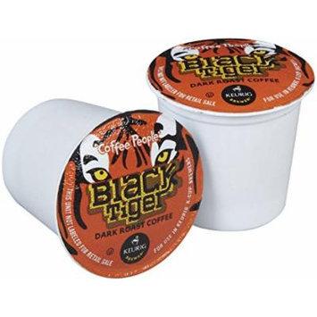 Coffee People Black Tiger Dark Roast 24 K-cups.