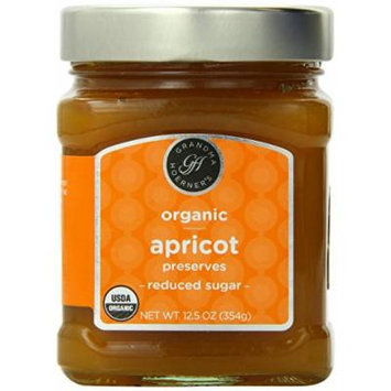 Grandma Hoerner's Organic Preserves, Apricot, 12.5 Ounce