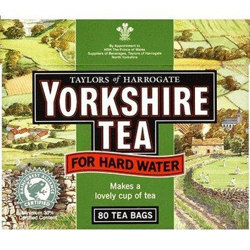 Yorkshire Hardwater Tea 80 Teabags