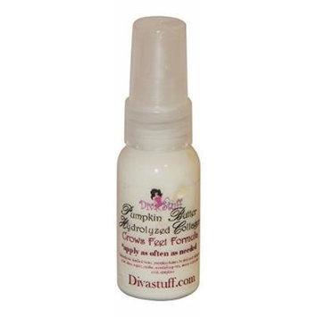 Crows Feet Formula Wtih Pumpkin Butter & Hydrolyzed Collagen, Eye Treatment By Kym's Diva Stuff, 1oz