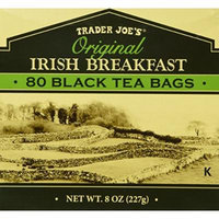 Trader Joe's Original Irish Breakfast Tea (80 Black Tea Bags Per Box)