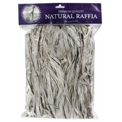 SuperMoss (30604) Raffia, Bleached White, 8oz