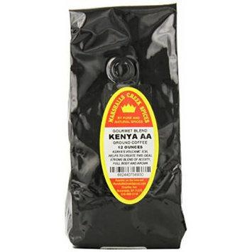Marshalls Creek Spices Gourmet Ground Coffee, Kenya, 12 Ounce