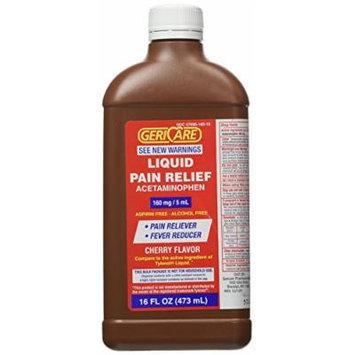 16 Oz bottle Acetaminophen Cherry Flavored Liquid