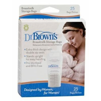 NEW Dr. Browns Breastmilk Storage Bags 25 Count