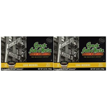Choc Full o'Nuts Soho Morning Coffee K-Cups 12 CT - Pack Of 2