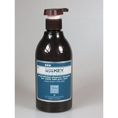 Saryna Key Silver Shampoo Neutralizing Pigment For White & Grey Hair Type 16.9 oz / 500ml