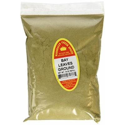 Marshalls Creek Spices X-Large Refill Bay Leaves, Ground, 14 Ounce