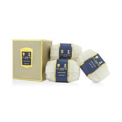 Floris White Rose by Floris London for Women 3 x 3.5 ox Luxury Soap