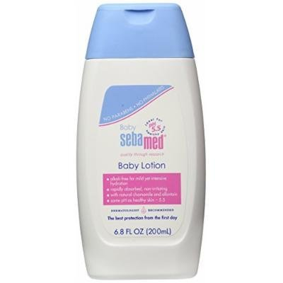 Sebamed Baby Lotion, 6.8 fl. oz.(200ml), 6 Pack