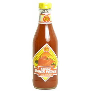 ABC Indonesian Sambal Manis Pedis - Hot & Sweet Chili Sauce, 11.5-Ounce Bottle (Pack of 3)