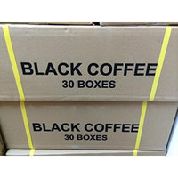 60 Boxes Organo Gold Gourmet Black Coffee 100% Certified with Ganoderma Lucidum Reishi Extract