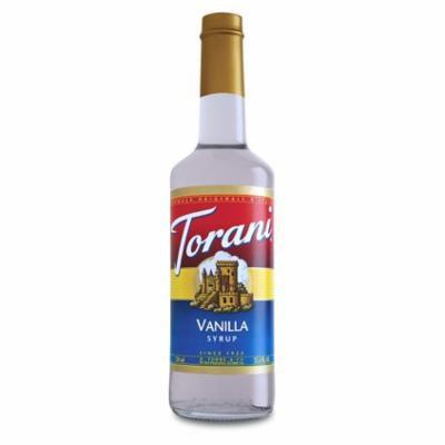 Torani Sugar Free Vanilla Syrup (1 Single 750 ml bottle)