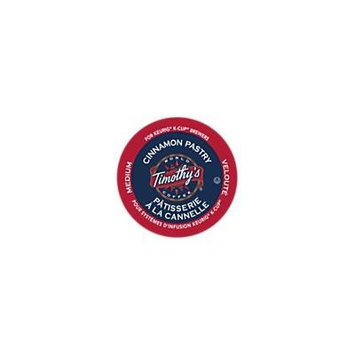 Timothy's World Coffee CINNAMON PASTRY 120 K-Cups for all Keurig Brewing Systems
