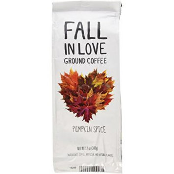 Paramount Coffee Flavored Fall In Love Pumpkin Spice, Ground, 12 Ounce
