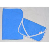 NuAngel Clutch and Go Changing Pad Set (Periwinkle Blue)