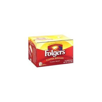 Folgers Coffee Singles, 38 ct(Case of 2)