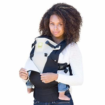 LILLEbaby Complete All Seasons SIX-Position 360° Ergonomic Baby & Child Carrier - Black/Camel