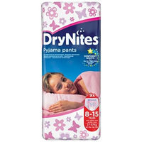 Huggies Drynites Pyjama Pants Girls 8-15 Years