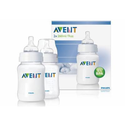 Philips Avent Airflex 260ml 9oz Pp Classic Baby Bottles Scf683/27 Twin 2 Pack Best Quality Original From United Kingdom Fast Shipping