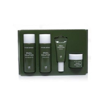 Nature Republic Snail Solution Trial Kit (New 4 Items)