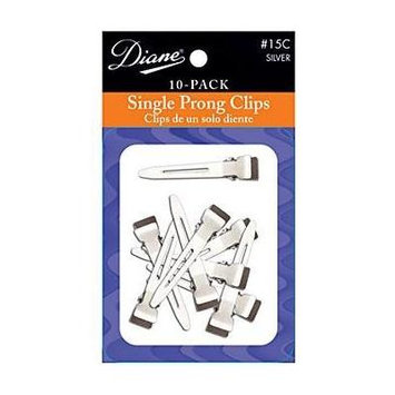 Diane Single Prong Clips, 1.75 Inches