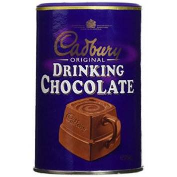 Cadbury Drinking Chocolate 9oz tub 250g (Pack of 2)