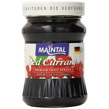 Maintal Fruit Spread, Red Currant, 12 Ounce