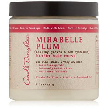 Carols Daughter Mirabelle Plum Fullness & Hydration Weightless Hair Mask, 8 Ounce
