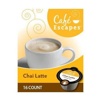 Cafe Escapes Chai Latte VUE Packs for VUE Brewers (16 VUE Packs)