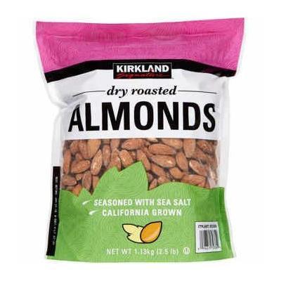 Signature's Roasted Almonds Jar, Dry, 2.5lb
