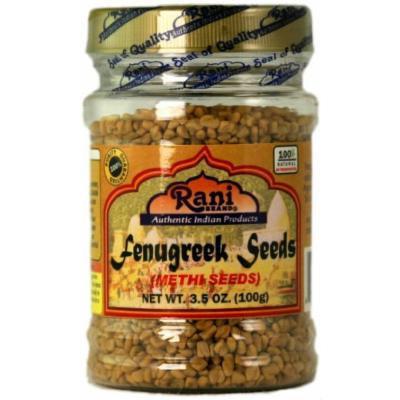 Rani Fenugreek (Methi) Seeds 3.5oz
