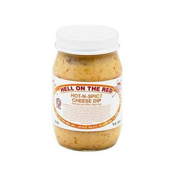 Hell on the Red Hot N Spicy Cheese Dip, 16 oz (2 Pack)