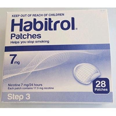 Novartis Nicotine Transdermal System Stop Smoking Aid Patches - 28 Each (Step 3 - 7 Mg)