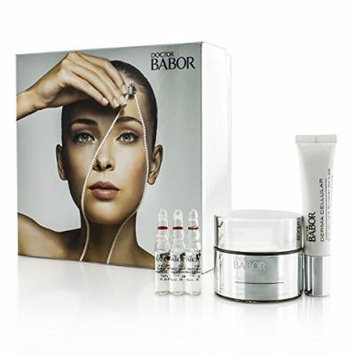 Doctor Babor Set: Collagen Booster Cream 50ml + Hyaluronic Collagen Booster Fluid 3x2ml + Anti-Wrinkle Booster For Lips