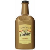 DaVinci Gourmet Sauce, Vanilla Custard, 64 Ounce
