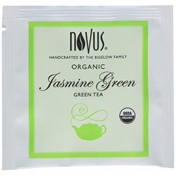 Novus Jasmine Green 100% Organic Tea, 50 Count Tea Bags