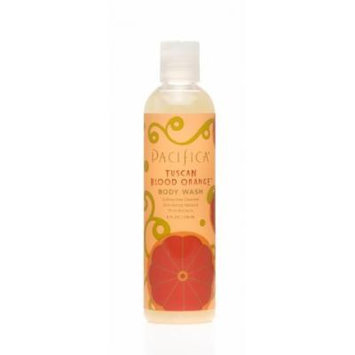 Pacifica Tuscan Blood Orange Body Wash 8 oz (Pack of 3)