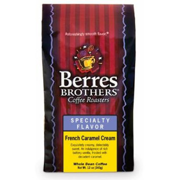 Berres Brothers French Caramel Cream Whole Bean Coffee 12 oz.