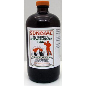 Traditional African Man Back Tonic 32 Oz.