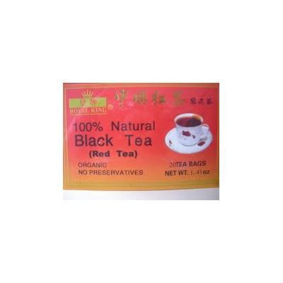 Black Tea 100% Natural 20 Tea Bags (Pack of 4)