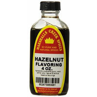 Marshalls Creek Spices, Hazelnut Flavoring, 4 Ounce