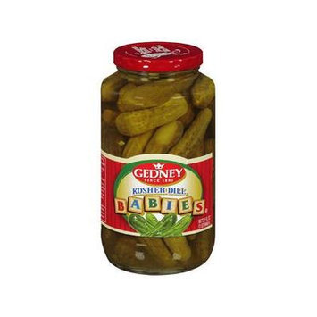Gedney Kosher Dill Babies Pickles, 32 fl oz