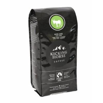 Kicking Horse Coffee, Kick Ass, Whole Bean Coffee, 1 Pound