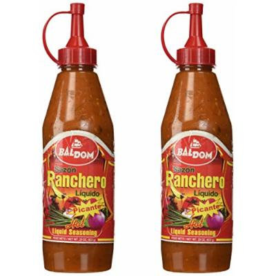 Dominican Liquid Hot Seasoning Ranchero Sazon Liquido Picante 29 Oz 2 Pack