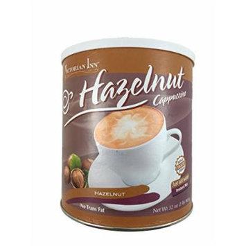 Victorian Inn Instant Cappuccino, Hazelnut, 32-ounce Canister