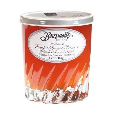 Braswell's Peach Apricot Preserve with Sauterne - One 13oz Jar